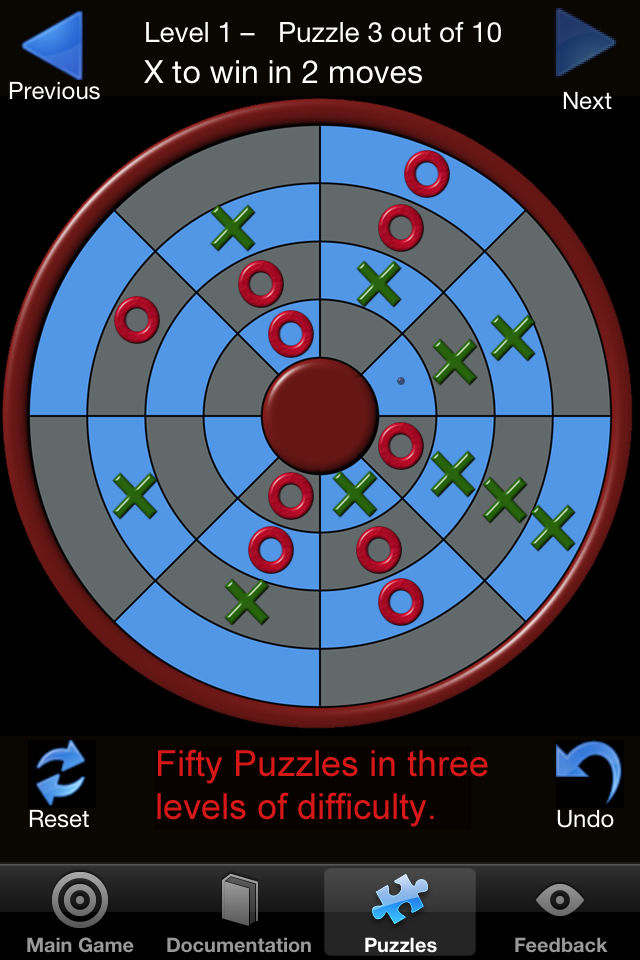 Screenshot Circular Tic Tac Toe Pro